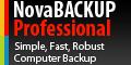 NovaBackup enkel, snabb och roubust säkerhetskopiering