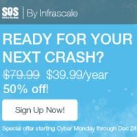SOS Online backup 50% off